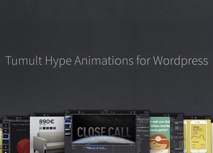 WP plugin Tumult Hype Animations