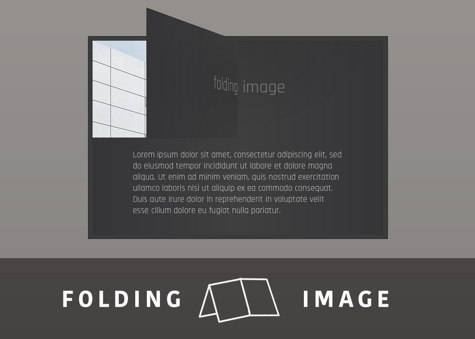 Folding image
