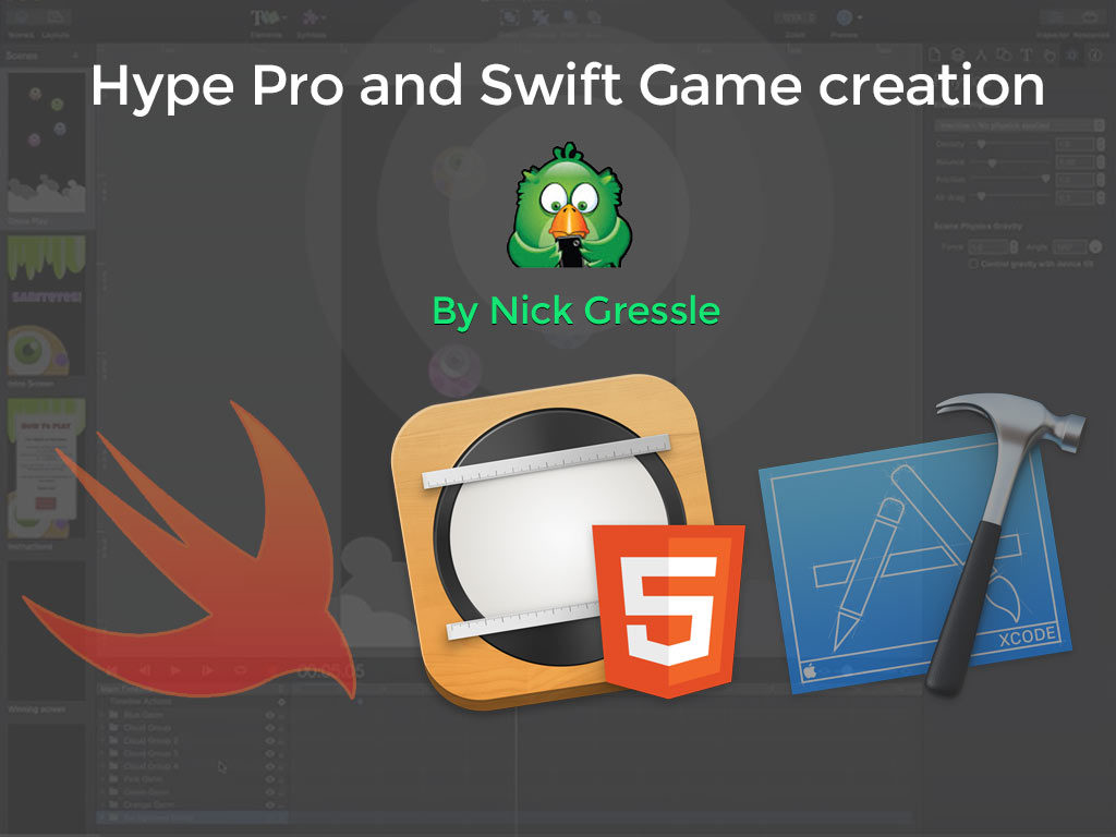 Hype Professional and Swift Game creation