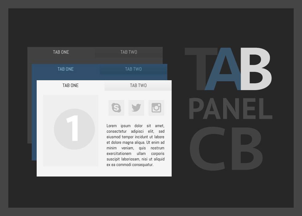 Tab Panel + C.B.
