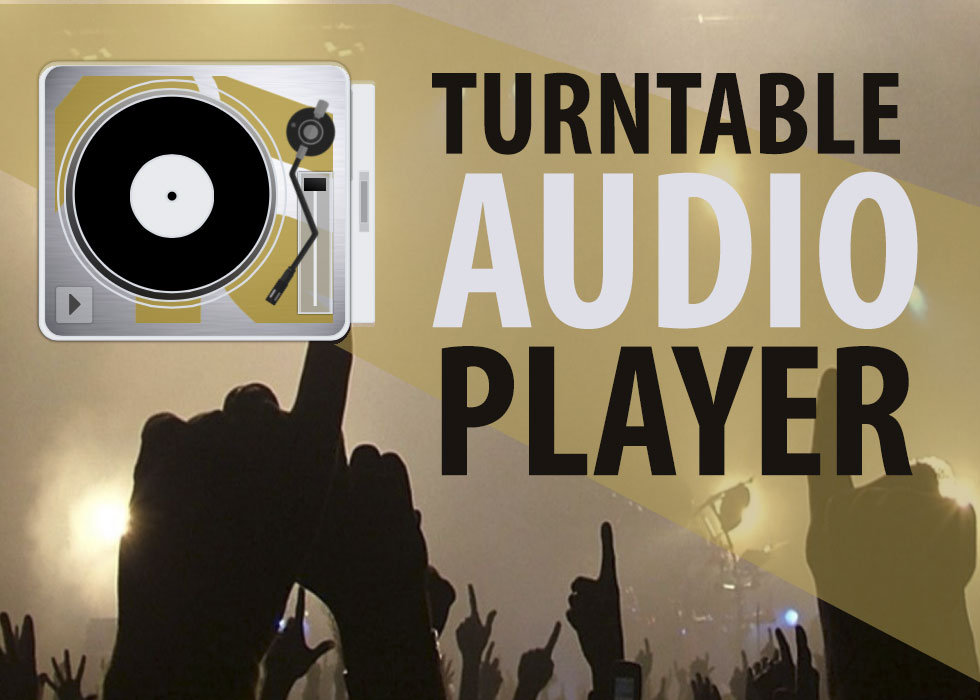 Turntable Audio Player