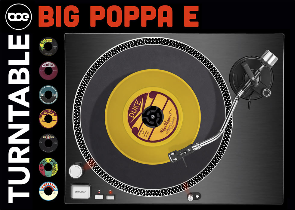 TurnTable BIG POPPA E