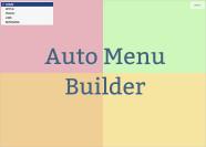 AutoMenu Builder